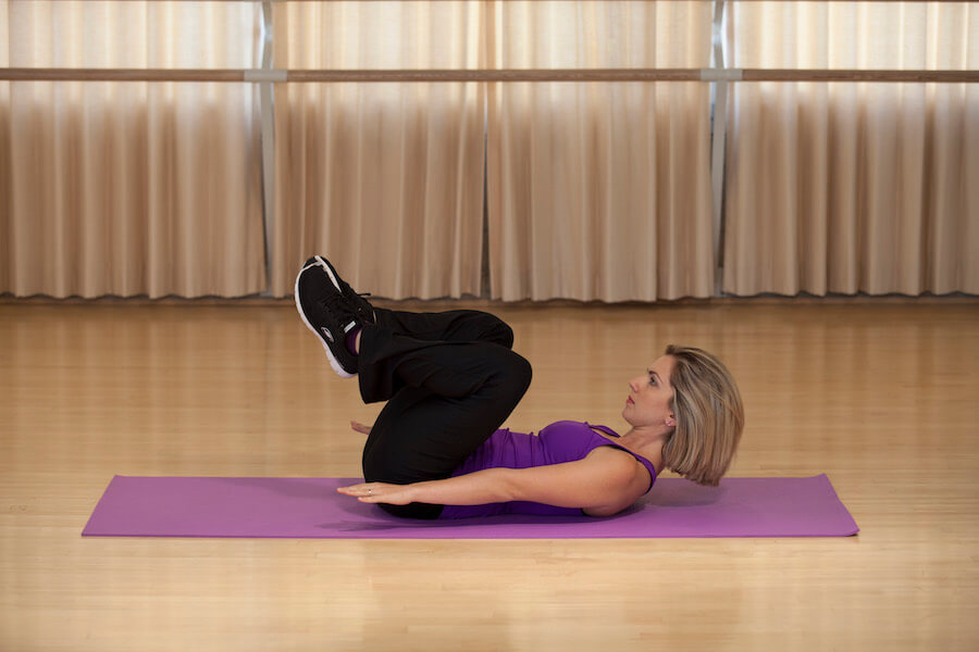 lady bug abs exercise start
